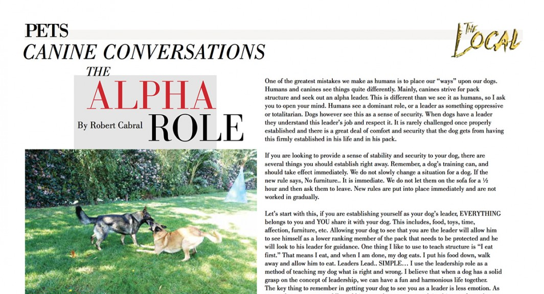 the alpha role